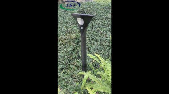 Lampe Solaire de Jardin écologique avec capteur IRP et de contrôle  photosensible