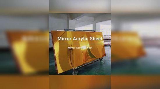 Gravé diamant acrylique miroir plusieurs tailles disponibles