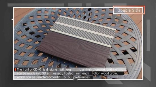 China Durable Weatherable Solid Decking Outdoor Flooring Cd 01