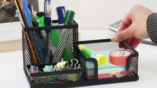 Multifunctional Office Mesh Organizer