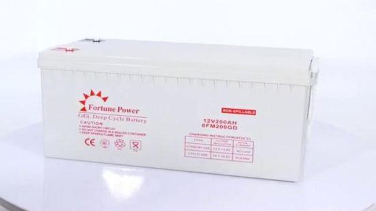 Chine La Chine 5 pièces à cycle profond batterie solaire 12V