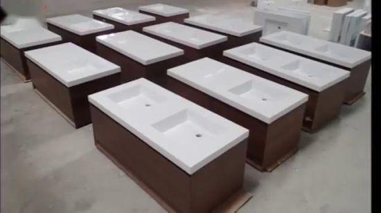 Chine Salle de bains moderne de la résine évier en pierre ...