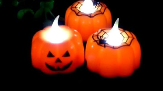 China Vela de calabaza linterna Mini Linterna Luz fiesta de