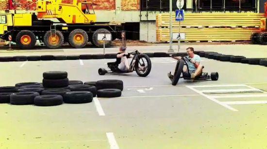 China 2018 High Performance Crazy 196cc Fat Wheel Drift