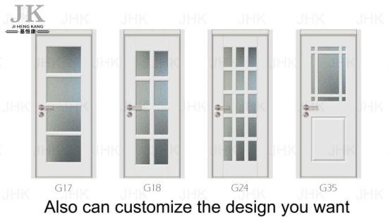 China Wooden Frames HDF MDF Veneer Glass Door - China HDF Door, Good ...