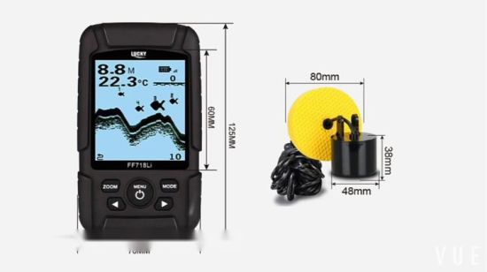 Transductor Cable fish finder (FF718Li-T)