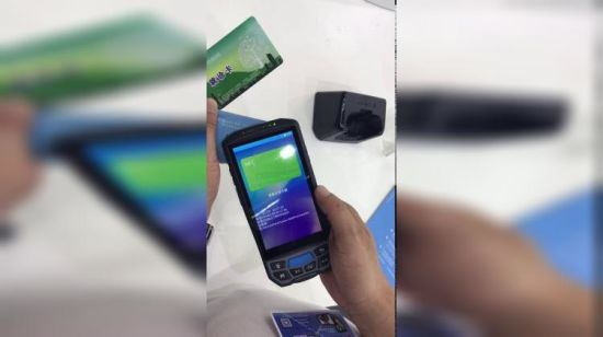 China 2018 New Industrial PDA Barcode Qr Code Scanner