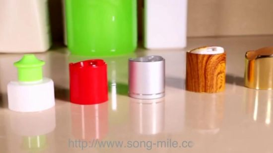China 28mm Plastic Push Pull Cap Water Bottle Cap in Different Type