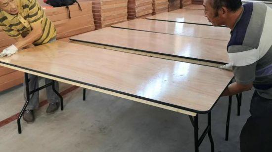 China Granja de contrachapado de madera natural banquete de ...