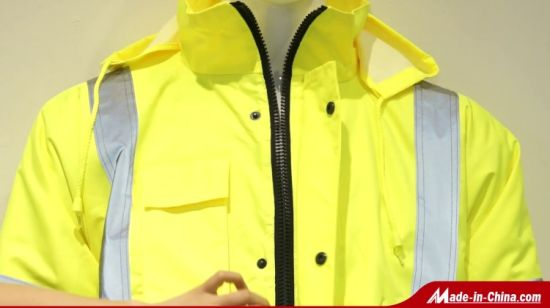 High Visibility Two Tone Reflective Workwear スウェットシャツ