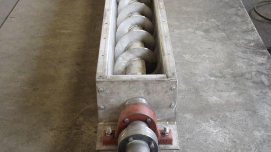 Спиральный транспортер конвейер тендер конвейера