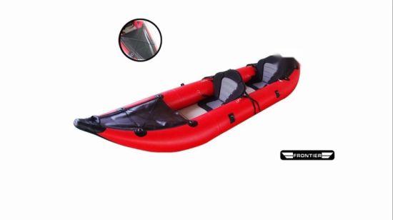 China Pvc Pontoon Kayak 2 Person Inflatable Pontoon Boats