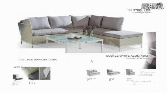 Fabulous China Comfortable Sofa Set Green Cushion And Black Rattan Bralicious Painted Fabric Chair Ideas Braliciousco