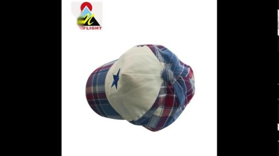 05a7f6a18 China Custom Embroidery Soft Cotton Baby 5 Panel Baseball Hat with ...