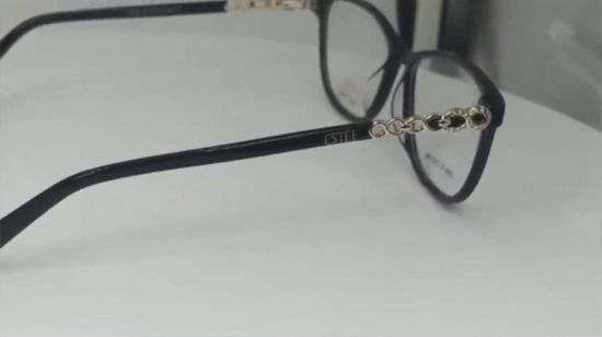 95a1a0253dc8 Ready Stock Best Quality Frame Designers Women Glasses Acetate Made in China.  Watching this video will consume data if you are not using WI-FI
