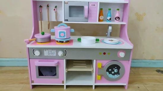 China 2019 New Design Boys Stainless Steel Kitchen Set Toy For