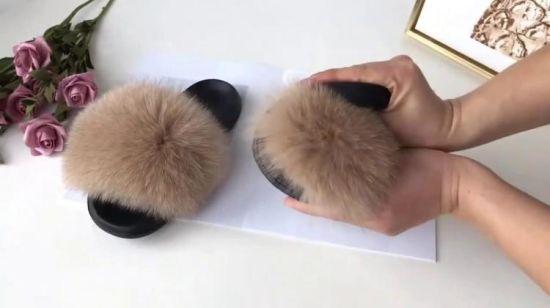 """Résultat de recherche d'images pour """"fur sandals"""""""