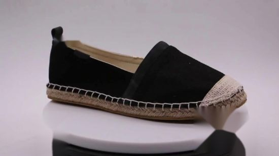 8110a508d China Wholesale Trend Loafer Jute Female Small Espedrilles - China Cheap  Shoes, Unisex Espadrilles