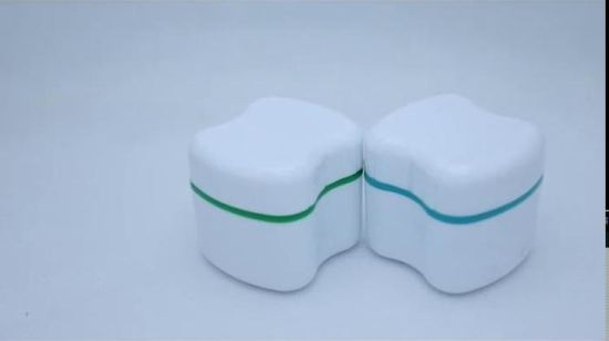 High Quality Groothandely Plastic Denture Box Tooth Box Gebit Tray Box