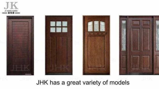 New Design Antique Chinese Old Wooden Door - China Red Walnut Door, MDF Door - New Design Antique Chinese Old Wooden Door - China Red Walnut Door