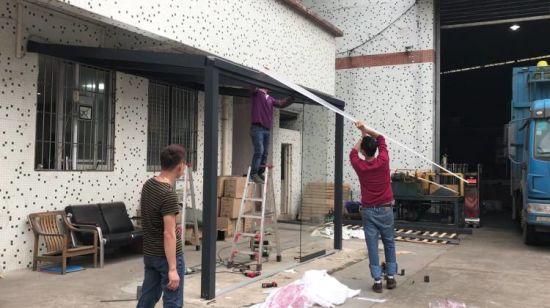 China Aluminio Jardín Terraza De Villa Comprar Terraza De