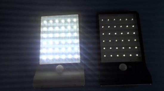 Étanche extérieur lampe solaire jardin lumière LED solaire avec détecteur  de mouvement mur solaire lumière
