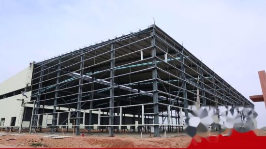 China High Rise Prefabricated House Building Frame Construction