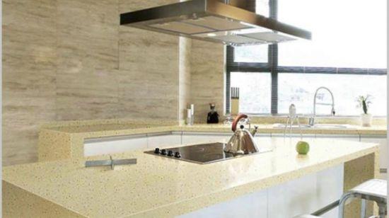 Künstlicher Marmorquarz-Stein-Platte-Hersteller für  Küche-/Badezimmer-/Hotel-Entwurf
