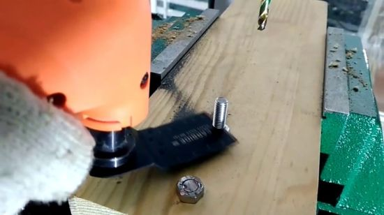 China 34mm Carbide Tip Heavy Flush Oscillating Blade for