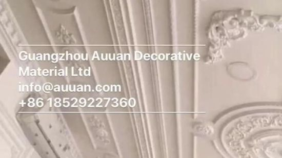China 81002 Wall Panel PU Carved Moulding Different Types of Coving