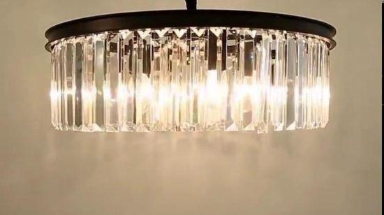 Chine Lumieres Modernes De Poste En Cristal De Lustre De