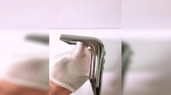 China Modern Design U Shaped Metal Cast Iron Brass Furniture Table ...