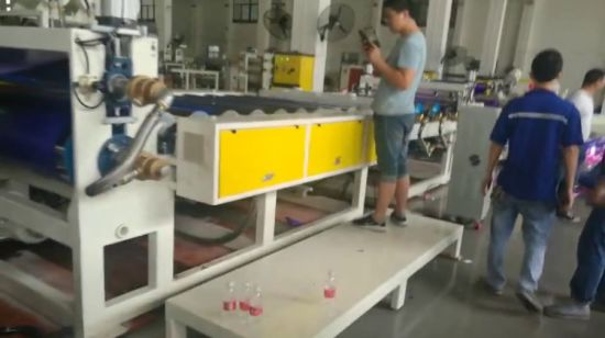 China Af 1000 Pp Foam Ribbon Film Sheet Extrusion Extruder Machine