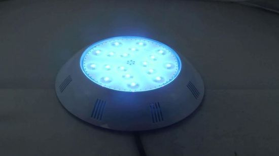 [Hot Item] New Product PC 100% Full Resin LED Swimming Pool Lights 252LED  RGB Multi-Color Wall Mounted