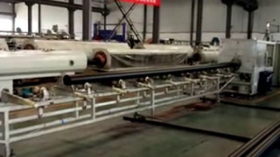 China smooth internal surface corrugated hdpe pipe china pe pipe