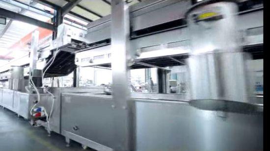 China Automatic Potato Chips Making Machine And Kfc Chicken Frying