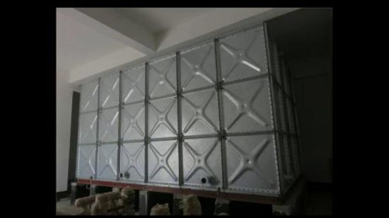 [Hot Item] Hot Galvanized Pressed Steel Sectional Water Tank