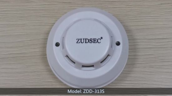 China 4 Wire Smoke Detector For Residentional Commercial Alarm
