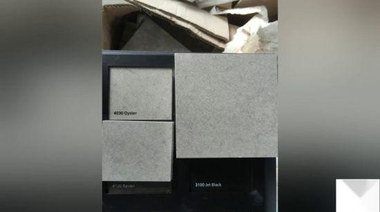 Commerce de gros préfabriqué noir/gris/blanc/bleu/jaune/beige/granit  rouge/marbre pierre Quartz semble artificielle pour les comptoirs de ...