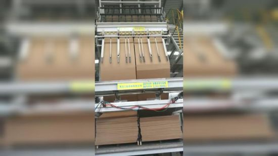 China Brown Craft Kraft Corrugated Paper Fanfold Cardboard Endless