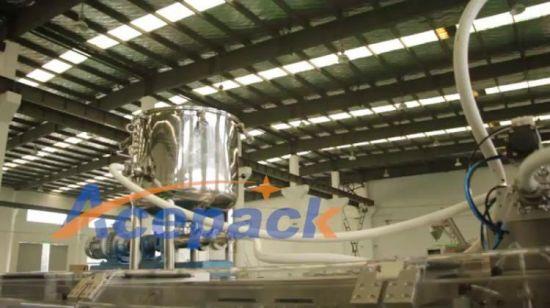 China 160ppm High Speed Duplex Outlet Filling Flat Sachet Sun Cream