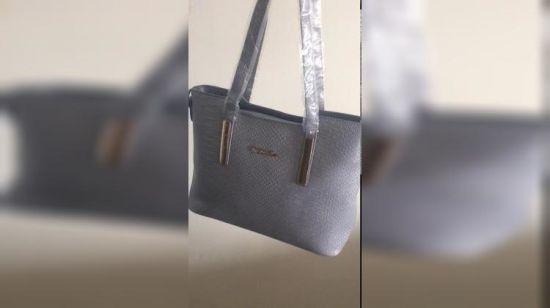 2f757e684f8fb ... Amazon Hot Sale Woven Pattern Leather 3PCS/Set Lady Tote Bag Handbag.  Watching this video will consume data if you are not using WI-FI