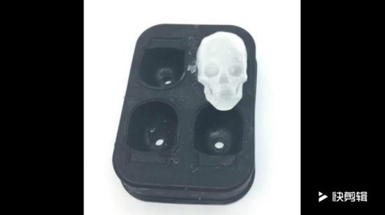 Custom Skull Silicone Ice Cube Mold for Promotion Gifts