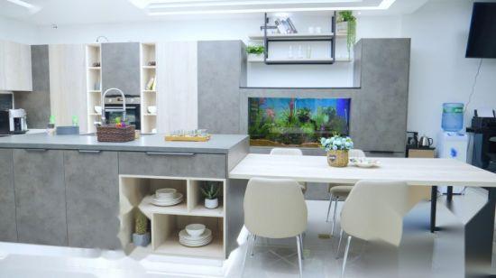 Extendable Dinner Table Kitchen Island Kitchen Cabinet ...