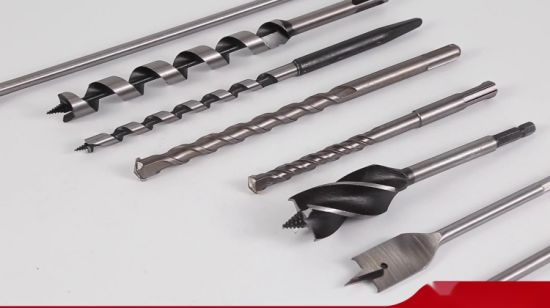 China Hex Shank Single Flute Wood Auger Drill Bit With Stem For Wood Deep Drilling China Wood Drill Bit Wood Auger Drill Bit
