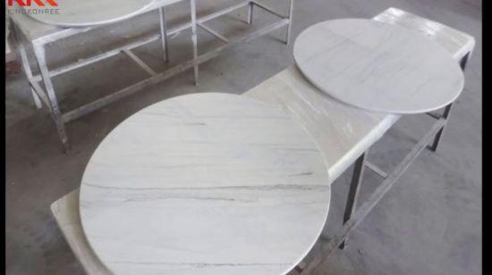 Vierkante Eettafel Kopen.China De Marmeren Hoogste Witte Stevige Vierkante Eettafels