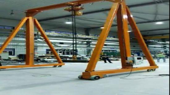 China 25 Ton Easy Assemble Mini Portable Manual Gantry Crane