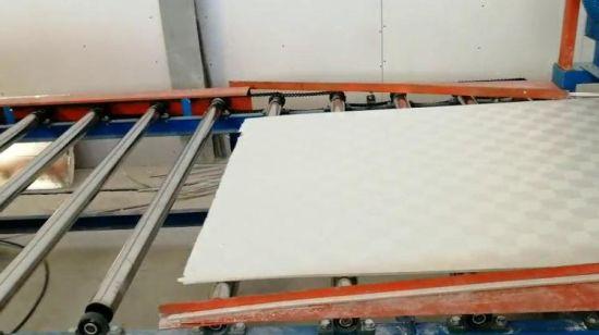 Техника для стройматериалов. Гипсовая потолочная плитка Ламинатор