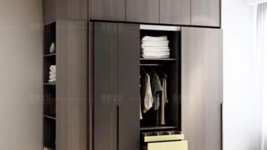 Meubles de salle de vie modernes en bois Meubles MDF Appartement Accueil  Hôtel Chambres penderie (UL-9L0058)