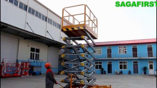 China 20m Mobile Hydraulic Aerial Electric Scissor Lift